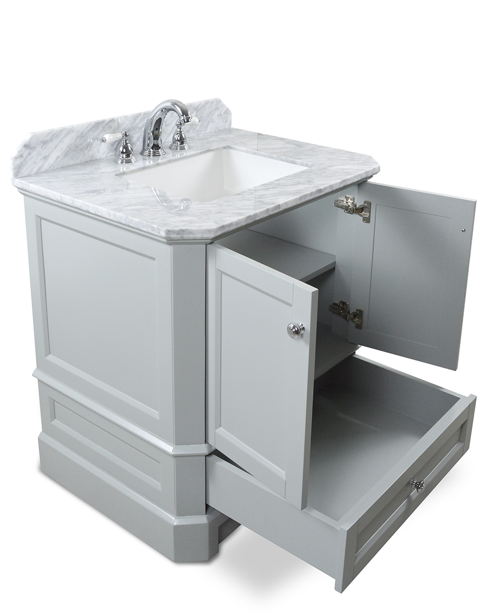 Icera Richmond 30 In Single Basin Vanity